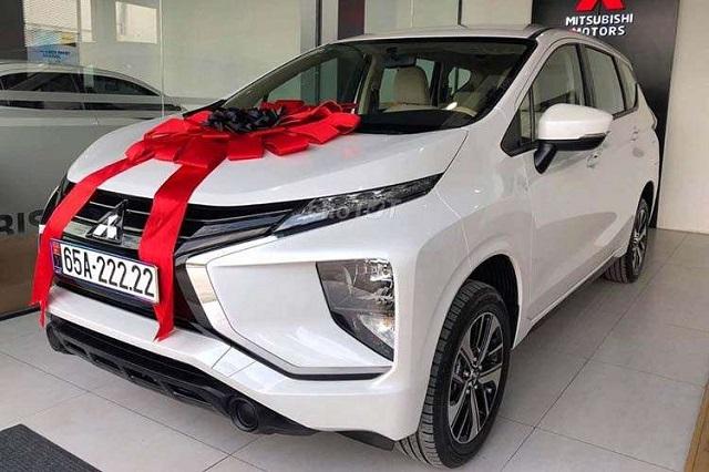 Mitsubishi Xpander biển số ngũ quý 2 rao bán 1,4 tỷ đồng. Ảnh: Chợ tốt.