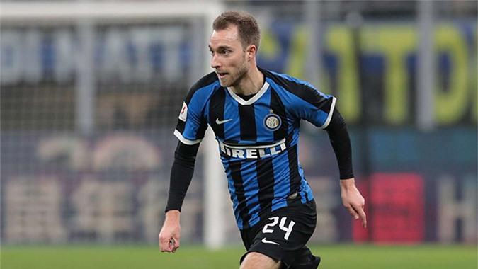 Eriksen mới đầu quân cho Inter
