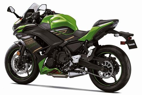 2. Kawasaki Ninja 650 2020 (giá: 7.699 euro).