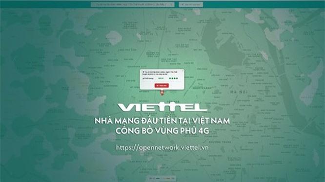 Truy cập bản đồ chất lượng vùng phủ sóng 4G, người dùng sẽ kiểm tra được chất lượng mạng tại bất cứ nơi nào ở Việt Nam. Ảnh: Diệu Linh