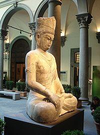 Tượng Phật được đúc dưới thời Võ Chu.