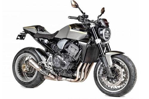 Để kỷ niệm 50 năm con người chính thức đặt chân lên mặt trăng, Honda Thụy Sĩ đã quyết định sẽ phát triển một phiên bản đặc biệt cho sự kiện trọng đại này. Theo đó, phiên bản đặc biệt này sẽ được phát triển dựa trên mẫu naked-bike cao cấp Honda CB1000R 2020 mới với cái tên Stardust.