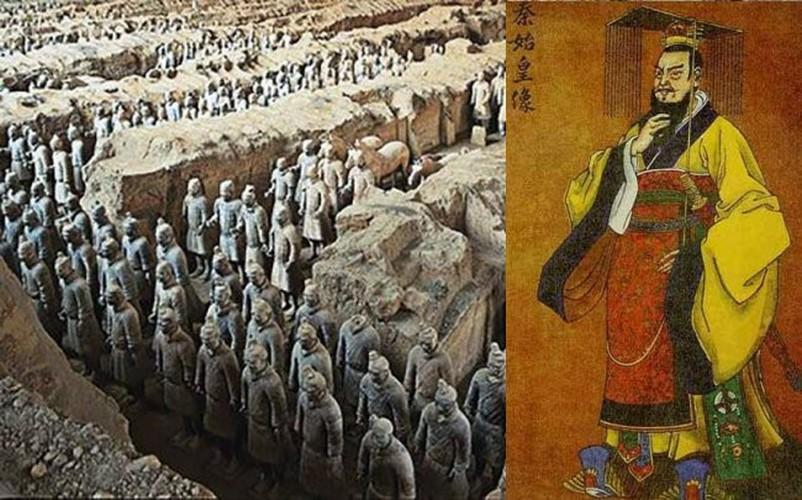 Lăng mộ của bậc đế vương Trung Quốc luôn ẩn chứa nhiều điều bí ẩn. Nơi an nghỉ ngàn thu của Tần Thủy Hoàng là một trong số đó. Vào tháng 3/1974, một nông dân đào giếng vô tình tìm thấy lăng mộ Tần Thủy Hoàng tại một địa điểm gần thành phố Tây An, tỉnh Thiểm Tây.