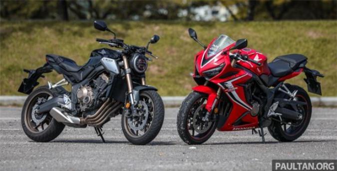 Honda CBR650R và CB650R 2019 được thiết kế vẻ ngoài hầm hố.