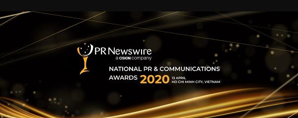 PR Newswire organize National PR & Communications awards 2020 in Vietnam.