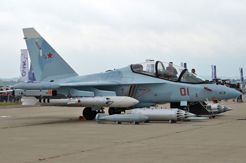 Theo những thông tin mới nhất được truyền thông trong và ngoài nước đăng tải, phía Nga đã xác nhận sẽ bán cho Việt Nam ít nhất 12 chiếc máy bay huấn luyện Yak-130 với tổng giá trị hơn 350 triệu USD. Nguồn ảnh: Airliners.
