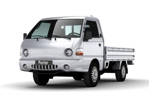 3. Hyundai Porter (doanh số: 7.480 chiếc).
