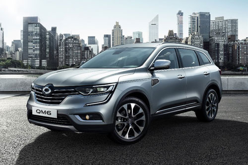 8. Renault Samsung QM6 (doanh số: 3.540 chiếc).