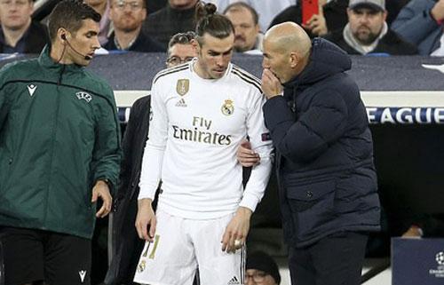 LV Zinedine Zidane vẫn quyết định bỏ qua và đưa Bale trở lại đội hình