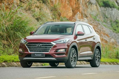 Hyundai Tucson facelift 2019 tại Việt Nam. Ảnh: TC Motor.