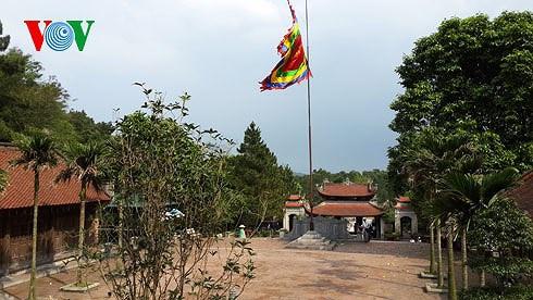 Đền thờ Nguyễn Trãi ở Chí Linh, Hải Dương. Ảnh: VOV.