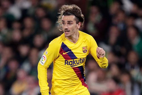 =2. Antoine Griezmann (Barcelona, 120 triệu euro).