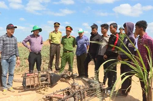 Bắt giữ 7 đối tượng đánh kiểm lâm tại Đắk Lắk.