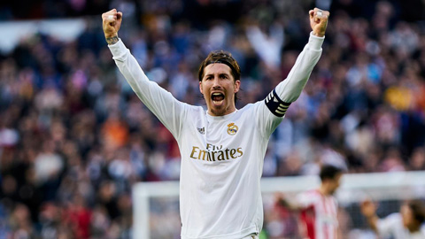 Ramos trở thành cầu thủ đầu tiên ghi bàn 17 năm liên tiếp ở La liga