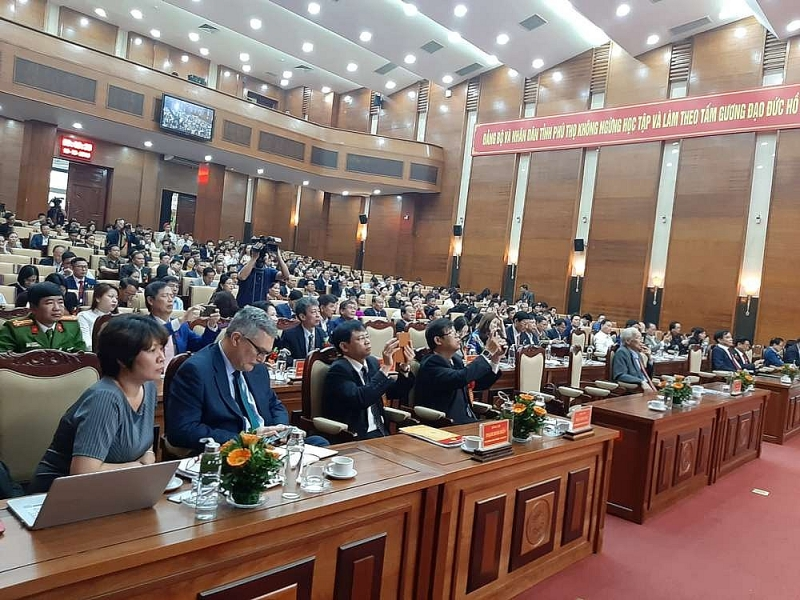 Representatives of ministries, departments, localities at the Forum.
