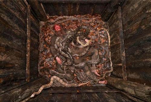 Bẫy rắn là một trong những loại bẫy nguy hiểm được một số nền văn minh ở châu Á và châu Âu thời xưa sử dụng rộng rãi.