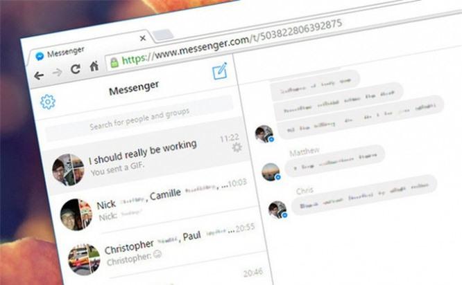 Thủ thuật đơn giản giúp tránh bị xem lén tin nhắn Facebook trên Google Chrome - ảnh 1