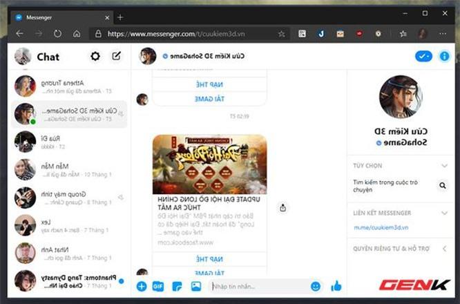 Thủ thuật đơn giản giúp tránh bị xem lén tin nhắn Facebook trên Google Chrome - ảnh 4