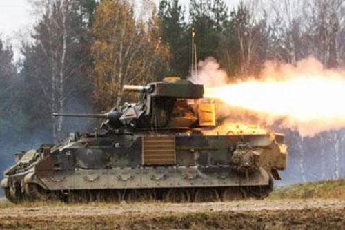 Xe chiến đấu M2 Bradley.
