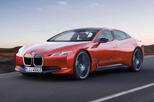 8. BMW i4.