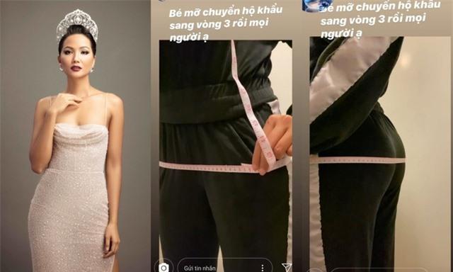 Hoa hậu HHen Niê khoe vòng ba chạm mốc 100 cm - 1