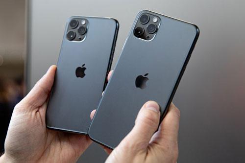 iPhone 11 Pro và iPhone 11 Pro Max góp phần quan trọng vào doanh thu của Apple.