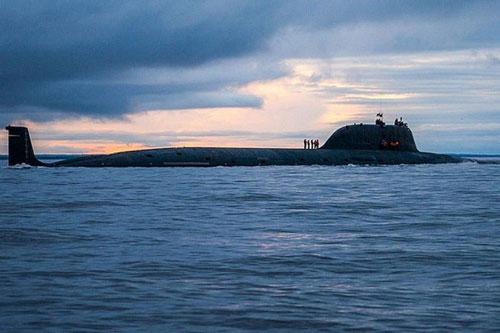 Một tàu ngầm của quân đội Nga. (Nguồn: Sputnik)