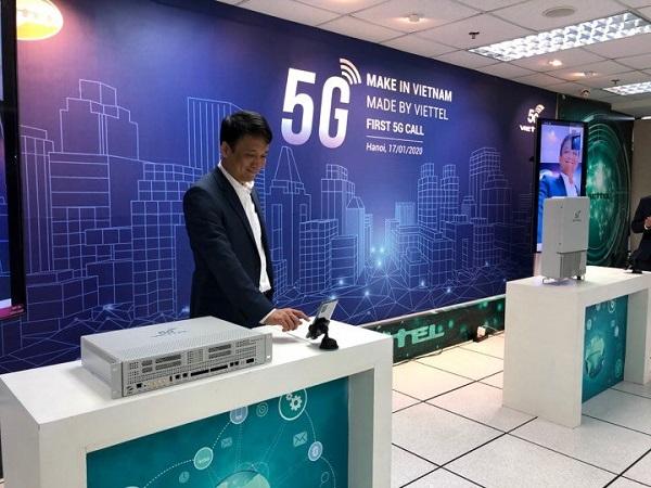 Viettel đã thử nghiệm thành công cuộc gọi 5G đầu tiên ở Việt Nam.