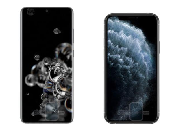 Samsung Galaxy S20 Ultra đọ sức iPhone 11 Pro Max - 1