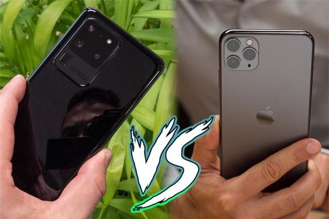 Samsung Galaxy S20 Ultra đọ sức iPhone 11 Pro Max - 3