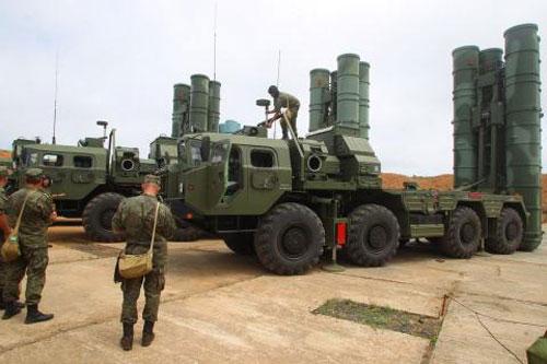 Hệ thống S-400.