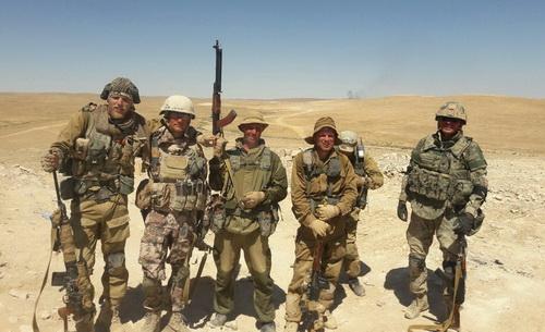Lính đánh thuê người Nga hoạt động tại chiến trường Syria. Ảnh: Avia.pro.