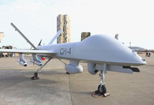 Máy bay không người lái Cảnh Hồng-4 (CH-4) là loại máy bay không người lái (UAV) tương đối tiên tiến của Trung Quốc, được giới quân sự coi là