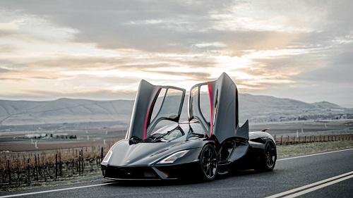 Xe có thể phá vỡ kỷ lục tốc độ do Bugatti thiết lập