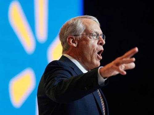 Rob Walton là người con trai lớn nhất trong gia đình này. Ông giữ chức chủ tịch Walmart cho đến năm 2015. Ảnh: Reuters. Ảnh: AP.