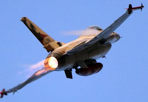 Trong cuộc không kích các mục tiêu quân sự nằm ở ngoại vi thủ đô Damascus của Syria hôm 6/2, không quân Israel đã bị tố cáo rằng