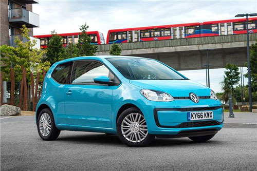 4. Volkswagen Up.