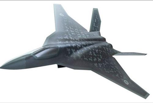 Đồ họa tiêm kích F-X, đối thủ tiềm tàng của tiêm kích J-20 Trung Quốc