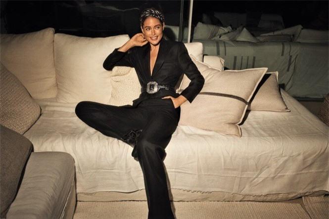 Ngưỡng mộ vóc dáng đẹp như tạc tượng của chân dài Doutzen Kroes  - ảnh 4