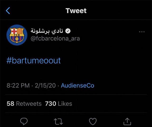 Và sau đó đăng thông tin về Neymar