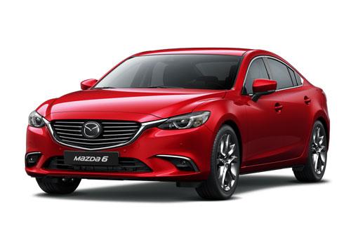 Mazda6 giảm giá sốc tại Việt Nam, cạnh tranh Toyota Camry, Honda Accord