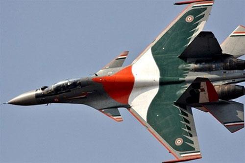 Tiêm kích chiếm ưu thế trên không hạng nặng Su-30MKI của Không quân Ấn Độ