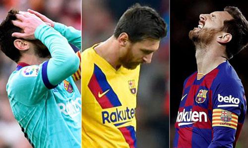 Messi cần tìm lại cảm giác ghi bàn để kéo tập thể Barca tiến lên.