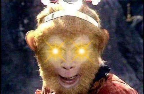 Hỏa nhãn kim tinh của Tôn Ngộ Không trong phim Tây Du Ký 1986.