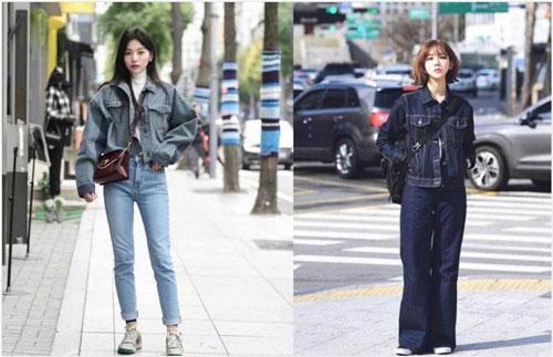 Denim thực sự là một món đồ cổ điển và bạn có thể thấy bất cứ lúc nào, vì vậy nếu bạn cảm không thể tìm được phong cách phù hợp vào đầu mùa xuân, hãy sử dụng món đồ denim như quần jean hoặc áo khoác denim.