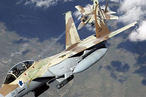Không quân Israel đã nhiều lần tấn công vào lãnh thổ Syria