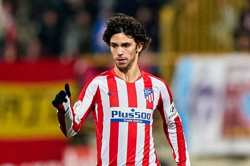 =8. Joao Felix (Atletico Madrid, giá trị hiện nay: 100 triệu euro, mức tăng: 30 triệu euro).