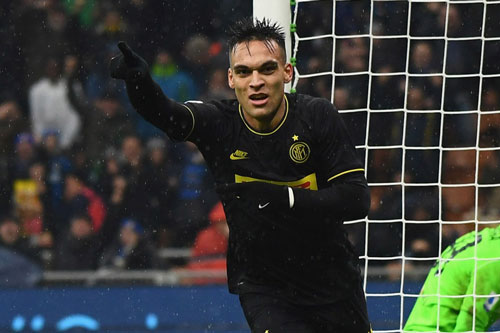 2. Lautaro Martinez (Inter Milan, giá trị hiện nay: 80 triệu euro, mức tăng: 50 triệu euro).