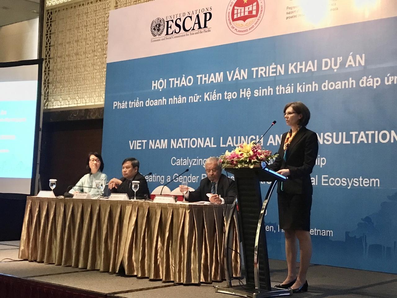 Ms. Deborah Paul - Ambassador of Canada in Vietnam. Photo: Hoang Lan.