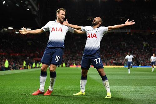 Tottenham Hotspur (giá trị đội hình: 897,50 triệu uero)